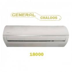 جنرال چالوس Chaloos 18000تروپیکال رادیاتور طلایی گاز R22