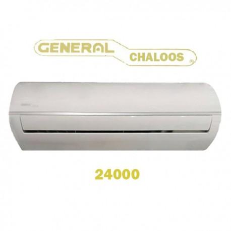 جنرال چالوس Chaloos 24000 تروپیکال رادیاتور طلایی گاز R410