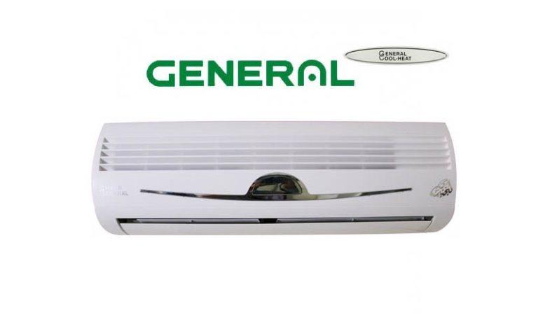 کولر گازی جنرال لبخند استیل ۲۴۰۰۰ گاز R410